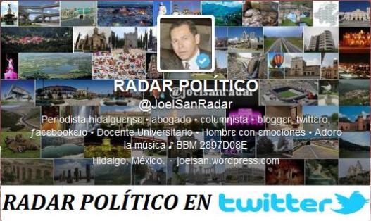 Sigue desde Twitter las Publicaciones de RADAR POLÍTICO