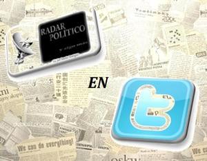 ENCUENTRA EN TWITTER LAS PUBLICACIONES DE RADAR POLÍTICO