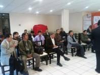 reunión periodistas