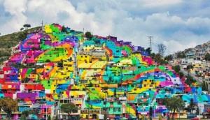 macro mural