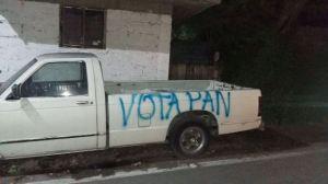 Vandalismo PAN Ixmiquilpan (3)