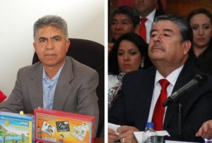 Luis Fuentes y Pablo Pérez