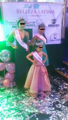Concurso efectuado el 9 de agosto del 2017 en Pachuca